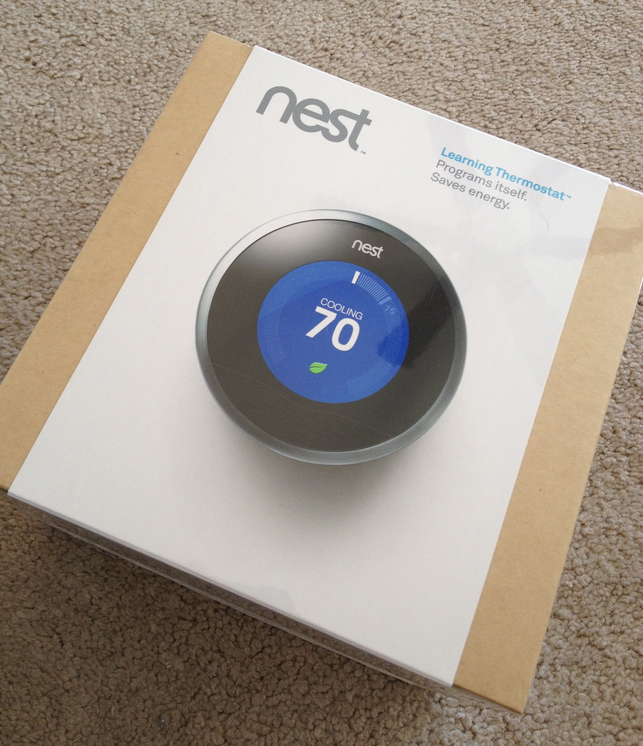 Nest Install Unscripted Thermostat Wiring Ring Nice